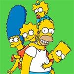 Раскраска Симпсоны