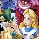 Раскраска Алиса в стране чудес