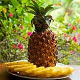 Раскраска ананас