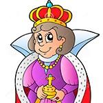 Раскраска королева