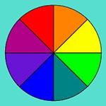 Раскраска круг