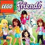 Раскраски Лего Френдс