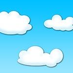 Раскраска облака