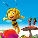 Раскраска пчёлка Майя