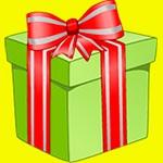 Раскраска подарок