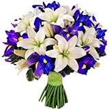 Раскраска букет цветов