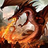 Раскраска дракон