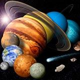Раскраска космос и планеты