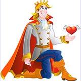 Раскраска принц
