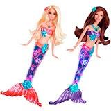 Раскраски Барби русалки