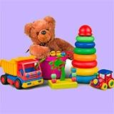Раскраски игрушки