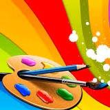 Раскраски краски