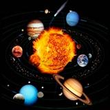 Раскраска солнечная система