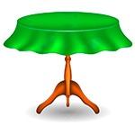 Раскраска стол