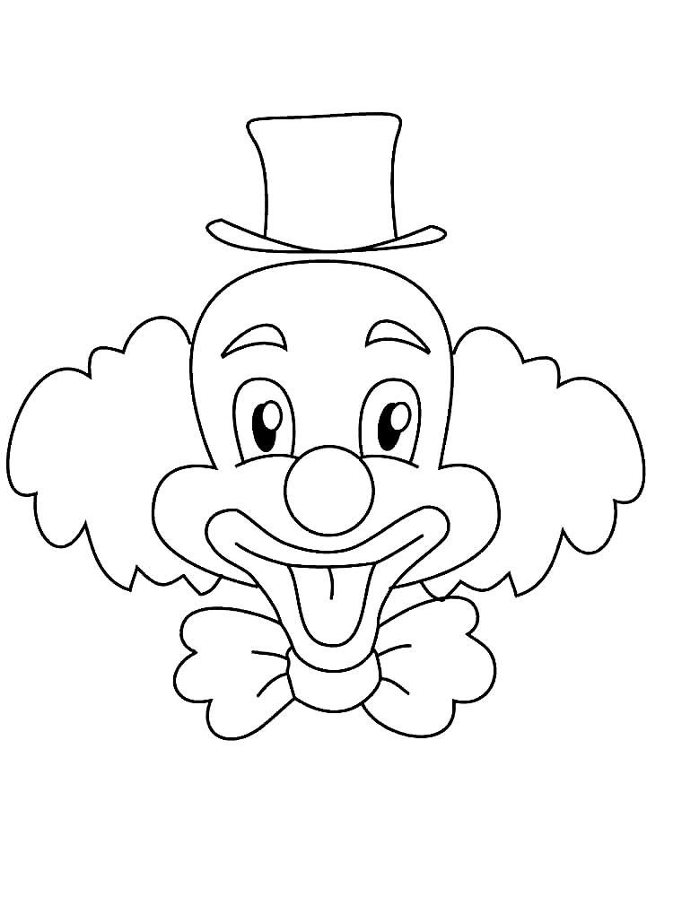 картинка лицо клоуна окружающей природы