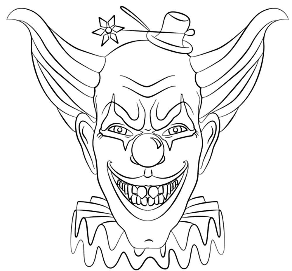 Полугодием мальчика, картинки клоунов для срисовки