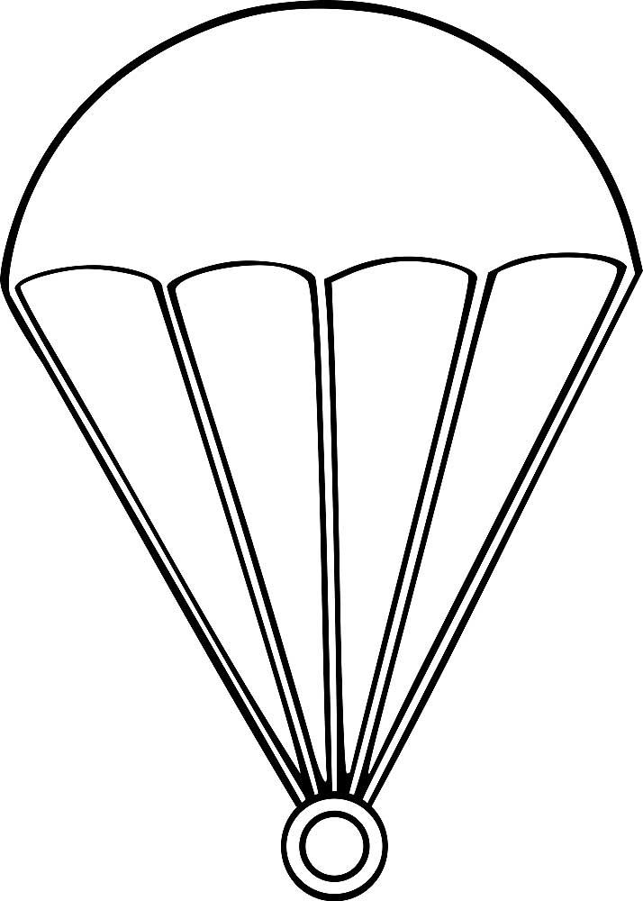 рисунок парашютисты раскраска блогах