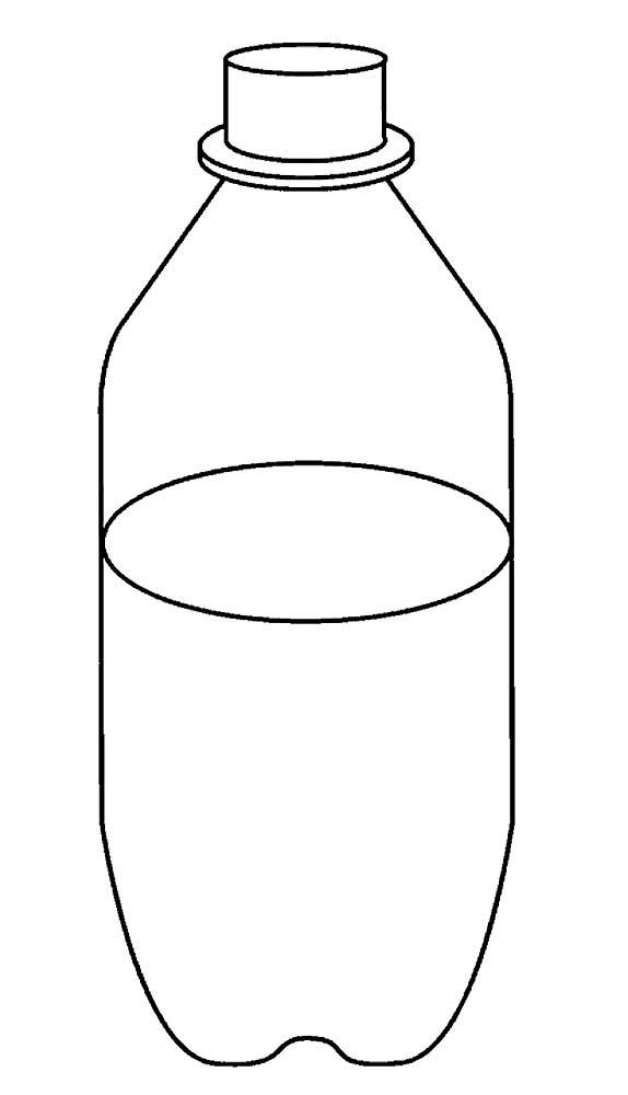 Картинка воды для детей раскраска