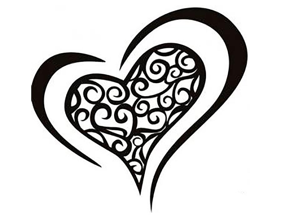 Графика картинки сердечки