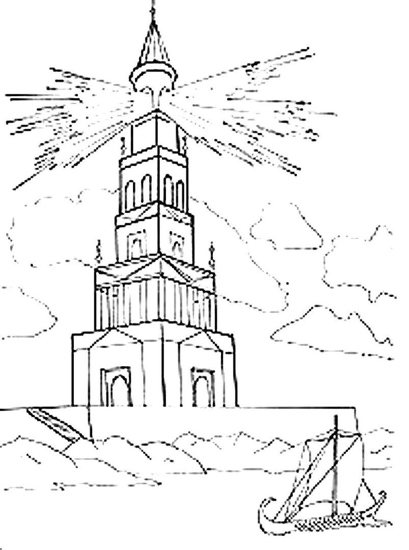 Александрия египетская картинки нарисовать карандашом