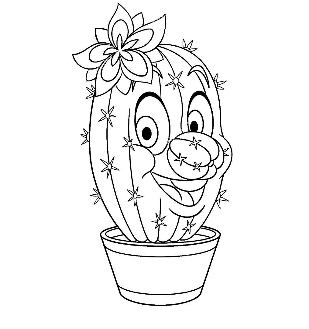 раскраска кактус в горшке критерии отбора участников