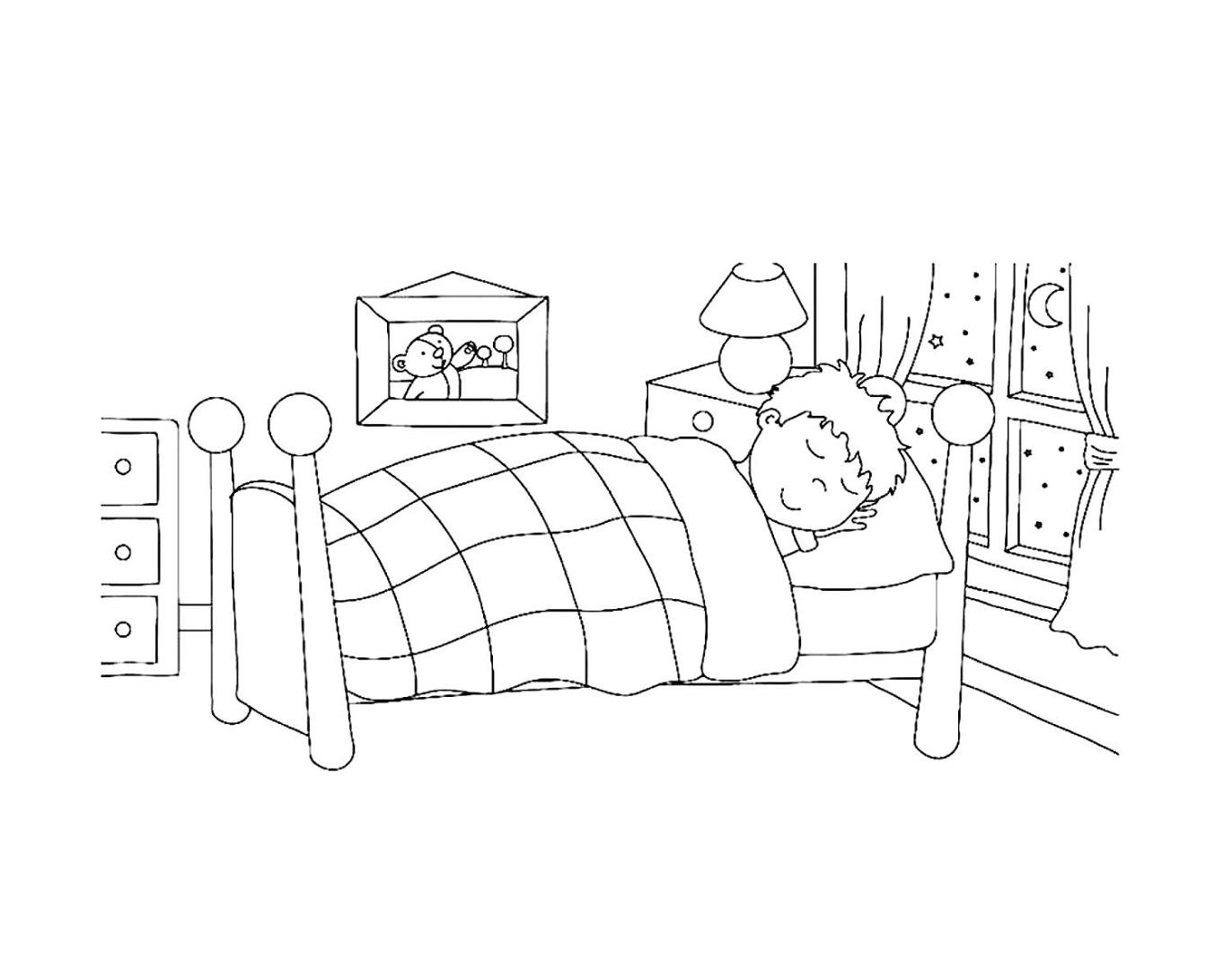 Картинки раскраски здоровый сон