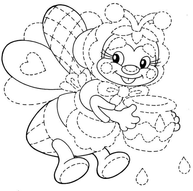 Раскраска для девочек фёрби