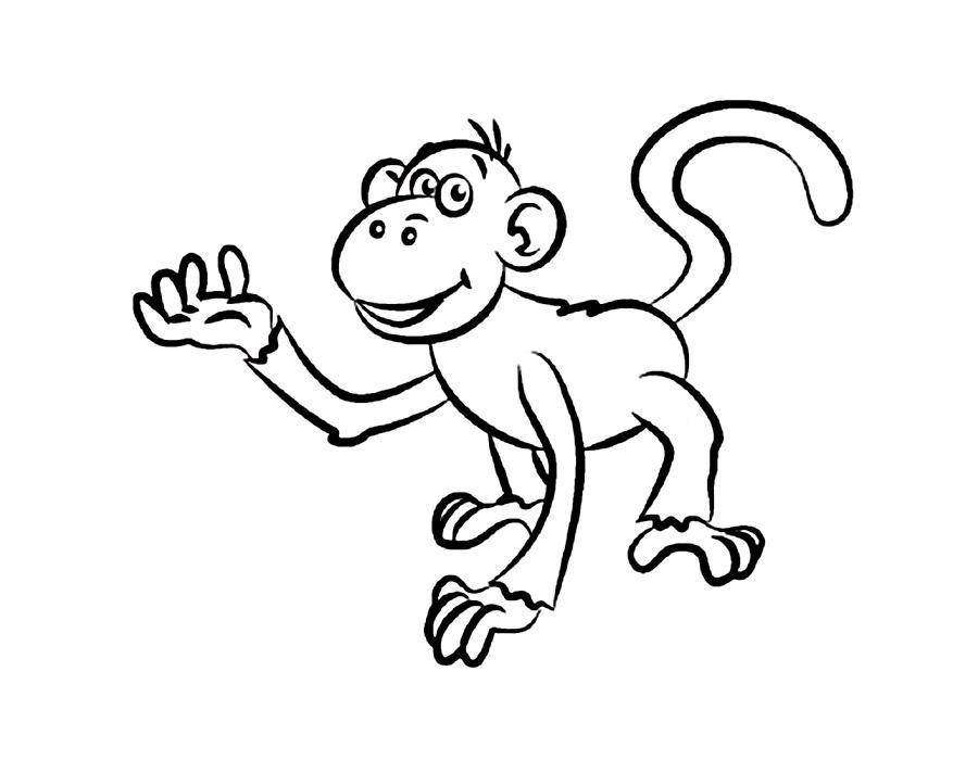 веселые обезьянки картинки распечатать обзавелся
