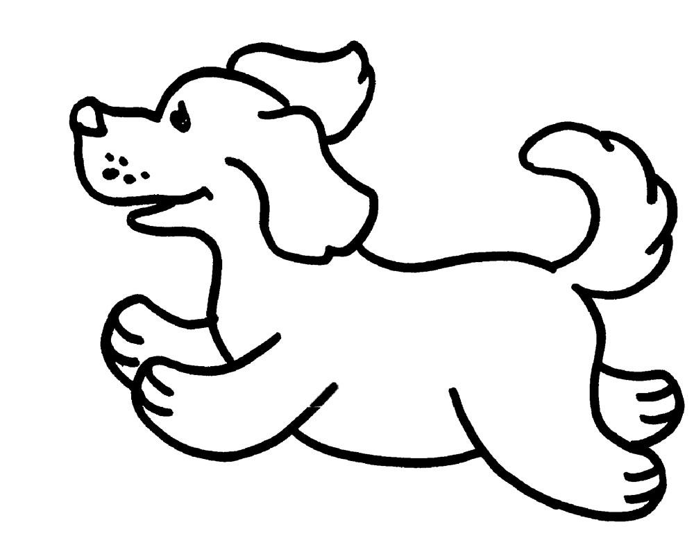 Раскраски для детей собаки и кошки 128