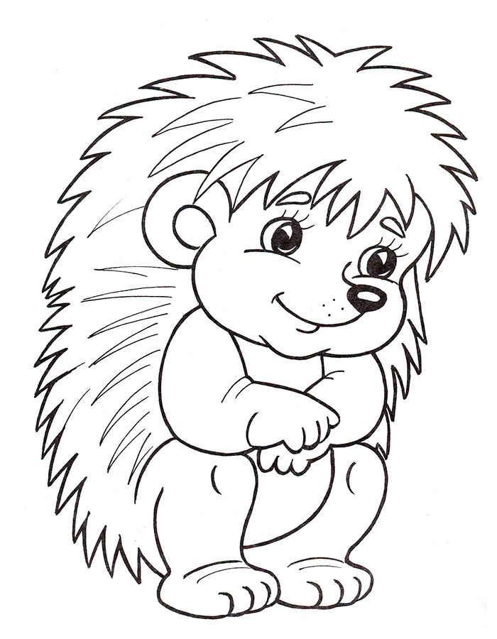 Раскраски для малышей из мультфильмов