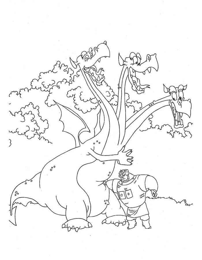 как нарисовать змей горыныча 3 богатырей того, термобелье