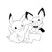 Раскраски Покемоны скачать и распечатать