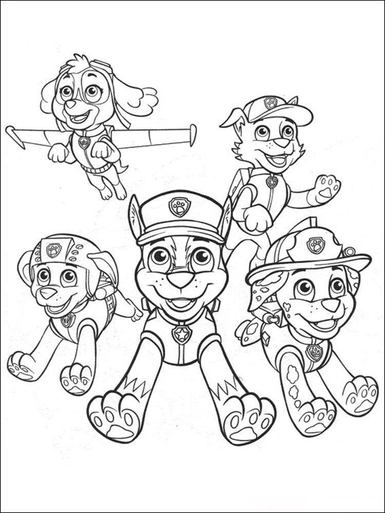 Игры для мальчиков раскраски щенячий патруль