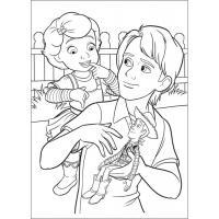 Раскраска История игрушек скачать и распечатать