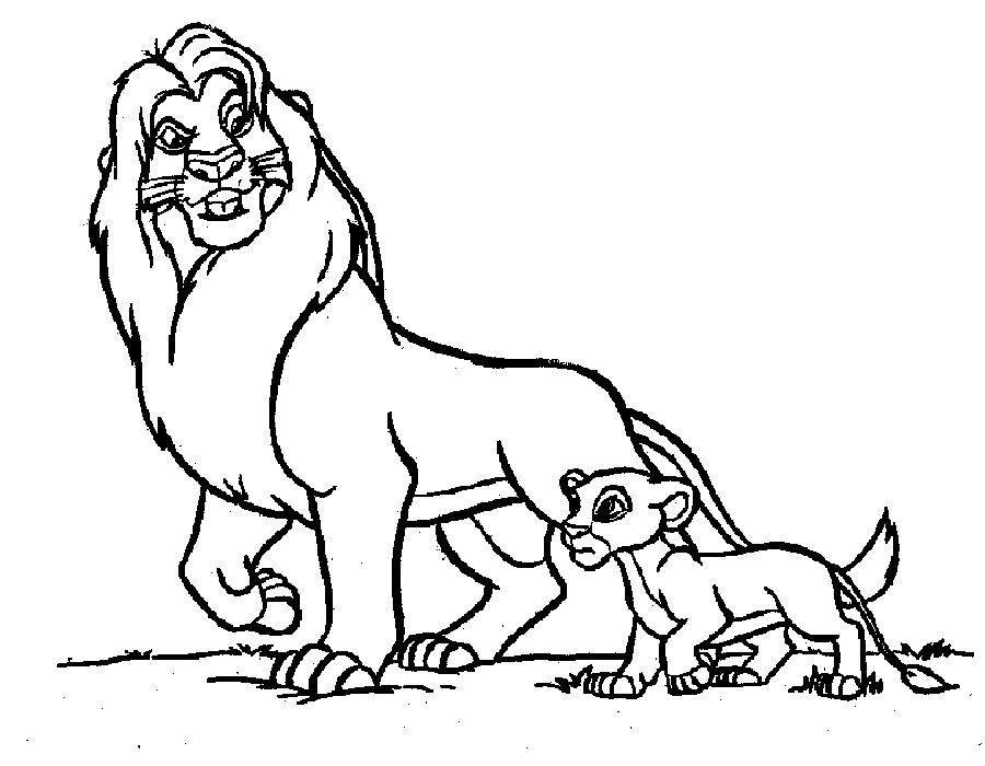 Обои со львами для рабочего стола