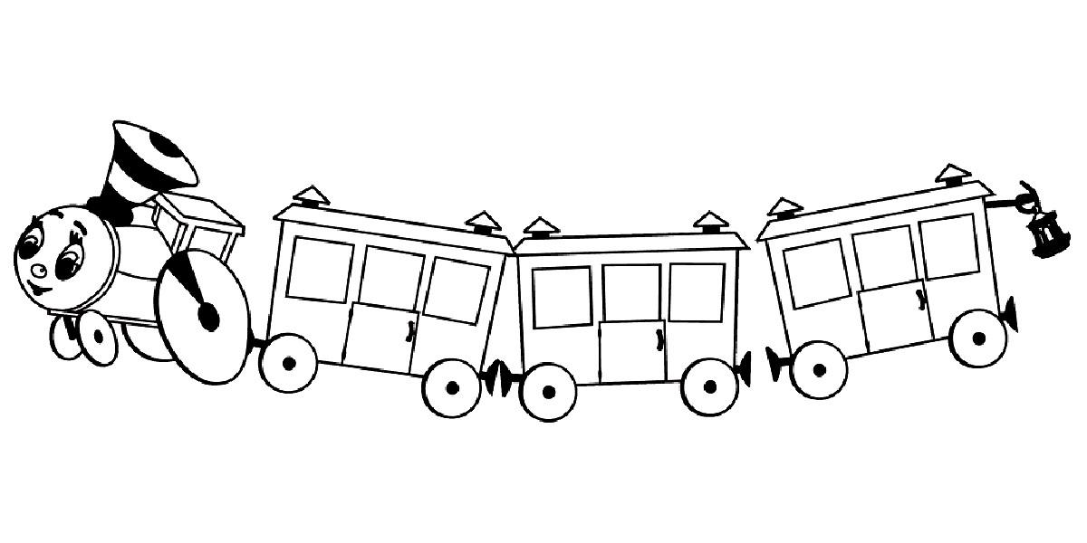 скачать паровозик из ромашково картинку