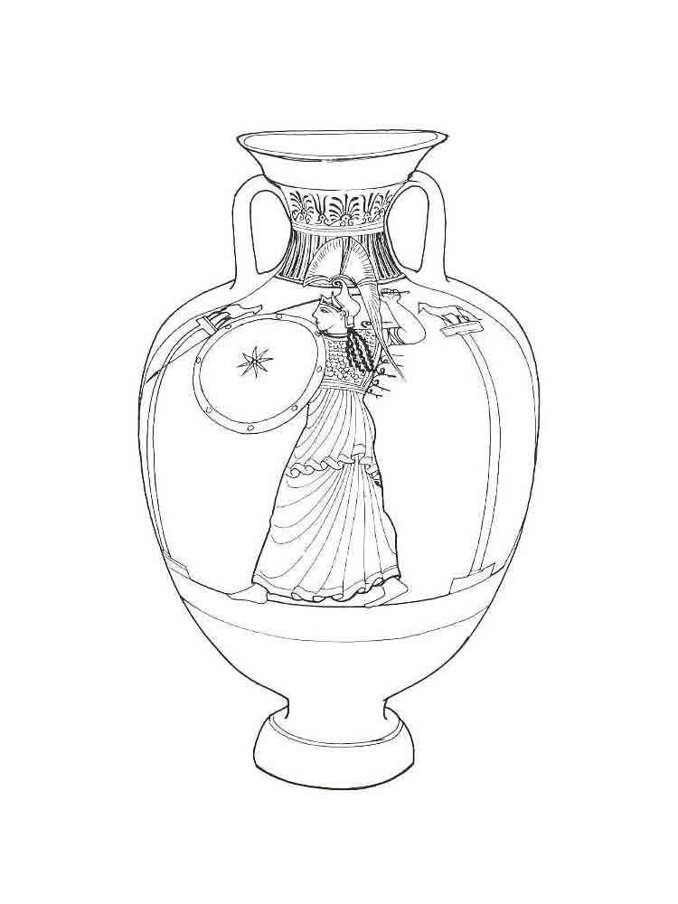 Нарисованные вазы картинки