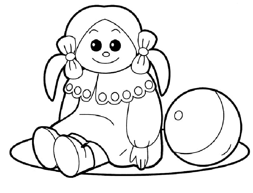 Раскраски игрушки - 9