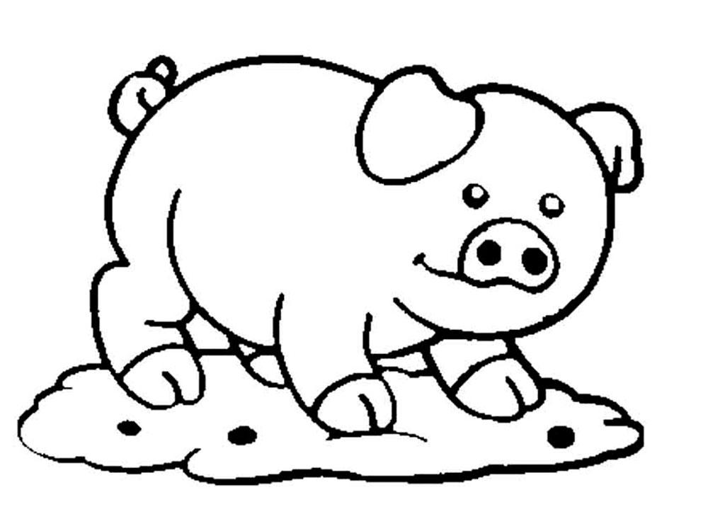 Раскраска домашние животные скачать и распечатать