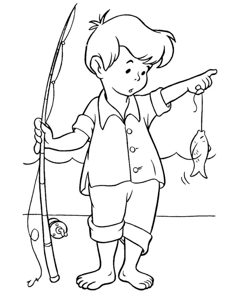 Раскраски для мальчиков рисовать - 6