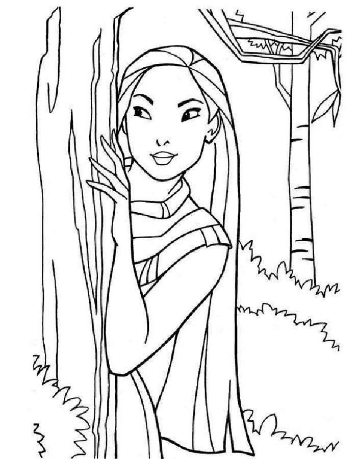 Раскраски девочки лалалупси