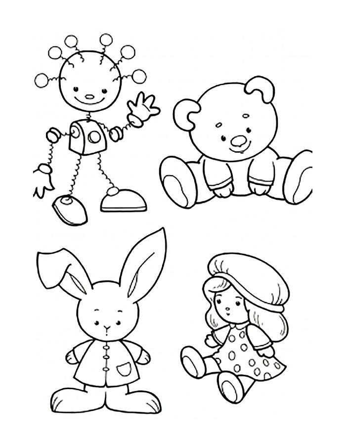 Шаблоны любимой игрушки