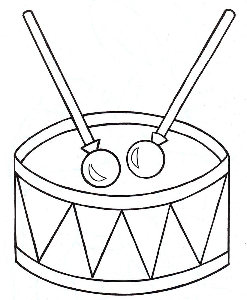 Раскраска игрушки для малышей - 5