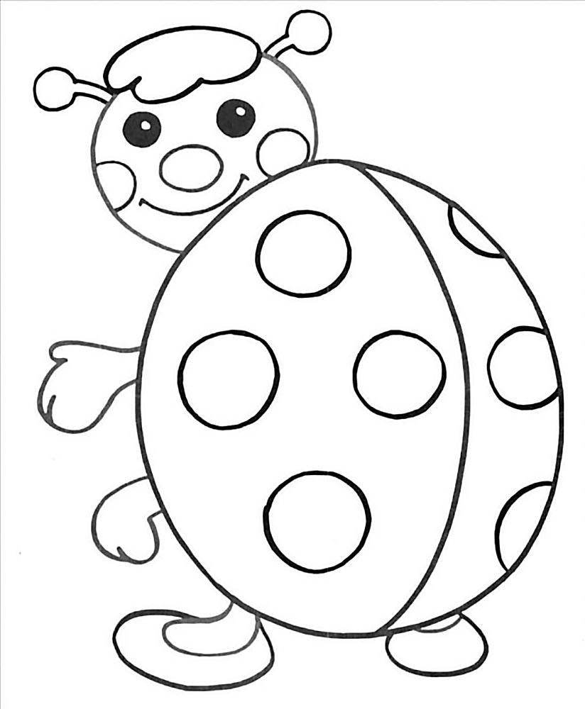 Раскраски для детей 3 и 6 лет