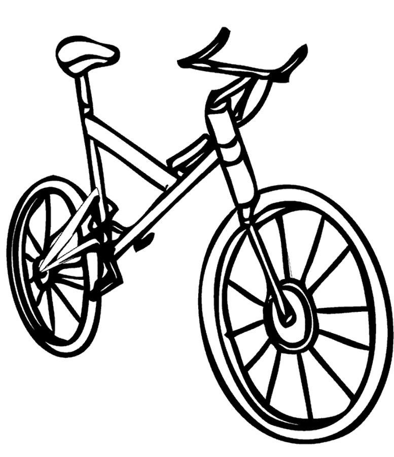 Маме, картинка велосипеда нарисованного