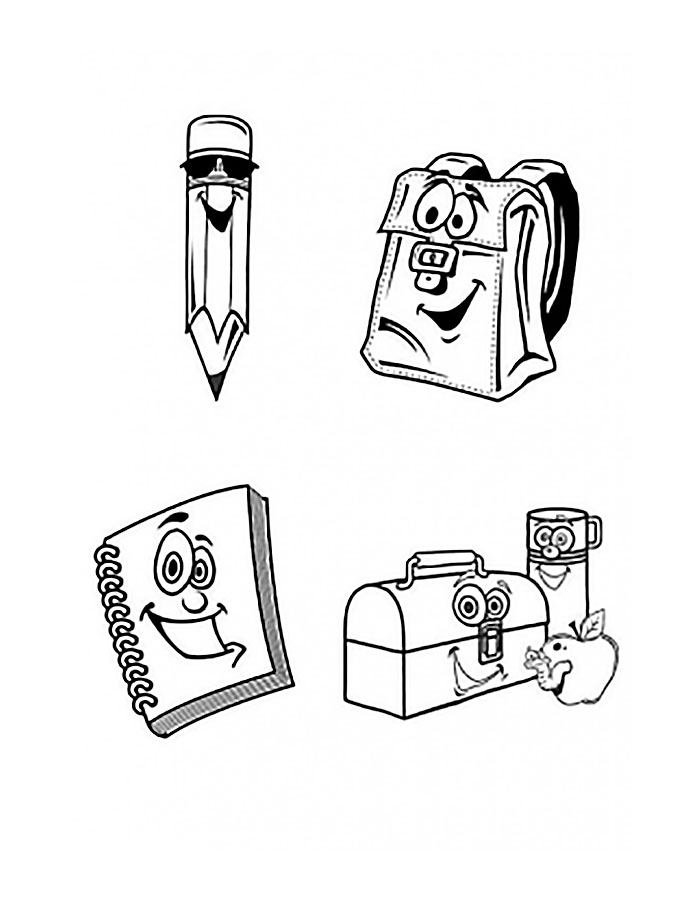 Раскраска ожившие предметы
