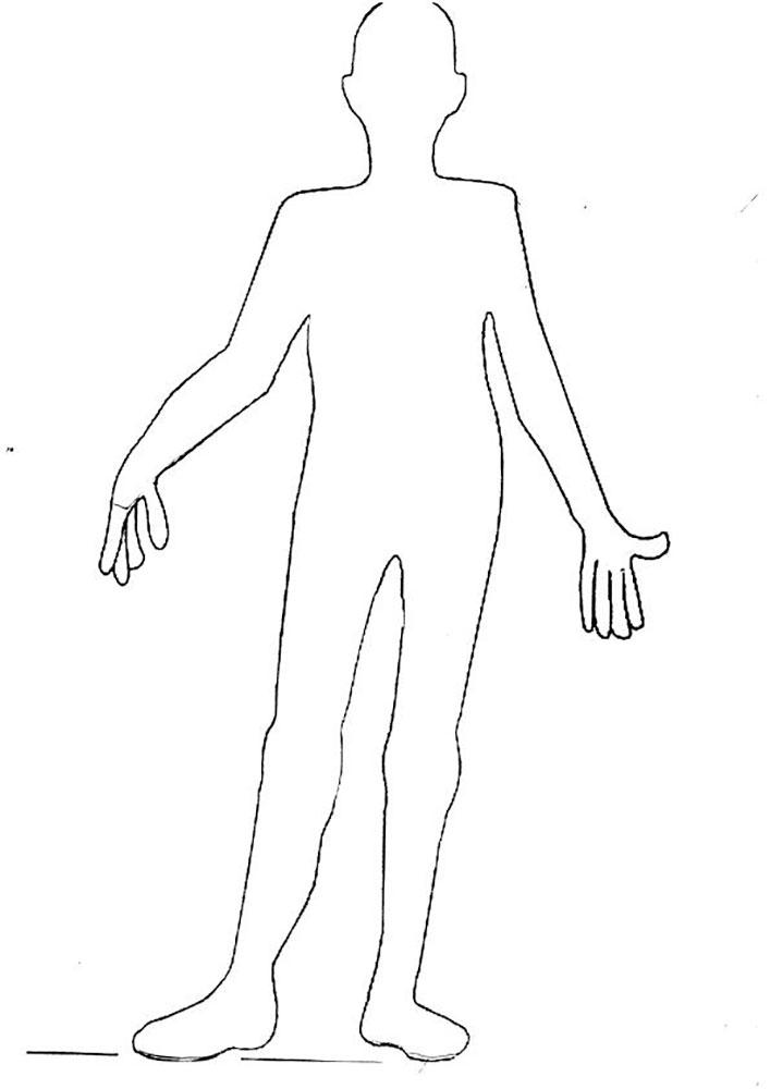Фигура человека картинка