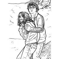 Раскраска Гарри Поттер