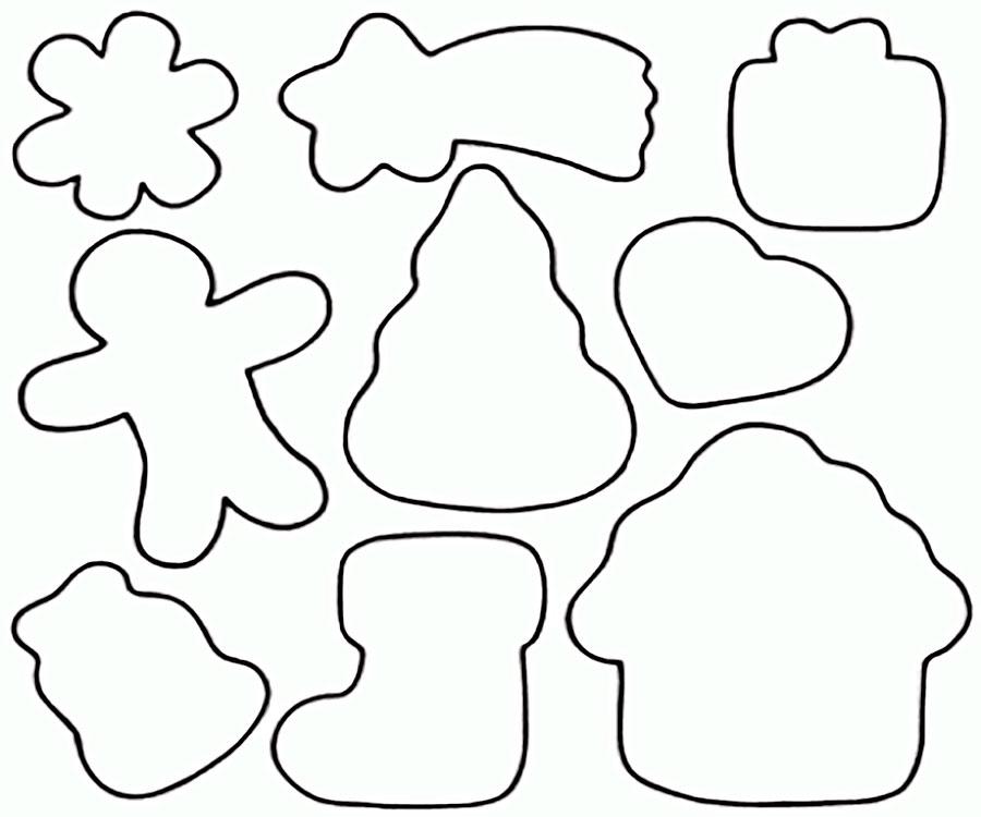 трафареты для печенья картинки показывают, что условия