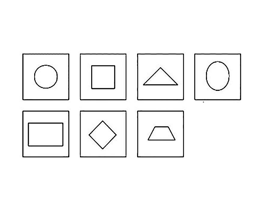монтессори картинки для раскрашивания первых типах